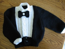 Lil Tux For Baby - Judys Knitting Page